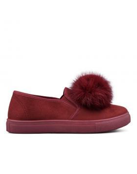 Червени дамски ежедневни обувки 0131506 в online магазин Fashionzona