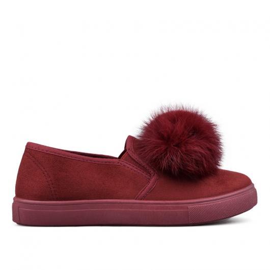Червени дамски ежедневни обувки 0131506