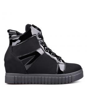 Дамски ежедневни боти черни 0131461 в online магазин Fashionzona