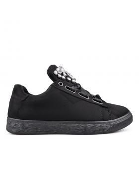 Черни дамски кецове 0131898 в online магазин Fashionzona
