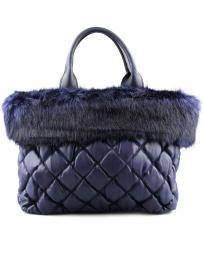 Тъмносиня дамска ежедневна чанта Janie в online магазин Fashionzona