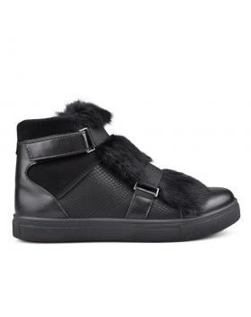 Черни дамски кецове 0131490 в online магазин Fashionzona