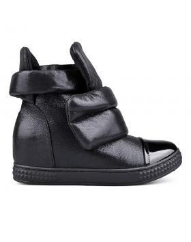 Дамски ежедневни боти черни 0131476 в online магазин Fashionzona