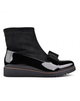 Дамски ежедневни боти черни 0131611 в online магазин Fashionzona