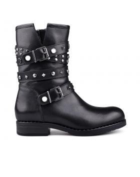 Дамски ежедневни боти черни 0132000 в online магазин Fashionzona