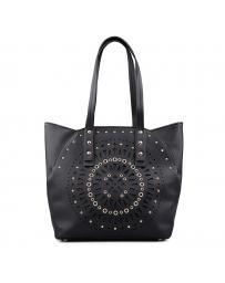 Черна дамска ежедневна чанта 0132243