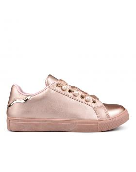 Розови дамски кецове Orlina в online магазин Fashionzona
