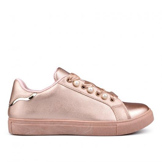 285db421b63 Розови дамски кецове Orlina ⋙ на цена 24,92 лв — Fashionzona