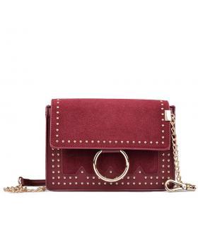 Червена дамска ежедневна чанта 0132255 в online магазин Fashionzona