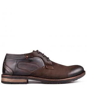 Кафяви мъжки ежедневни обувки Cristoval в online магазин Fashionzona