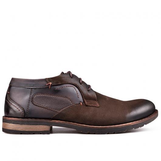 Кафяви мъжки ежедневни обувки Cristoval