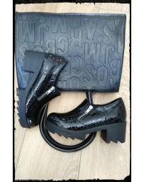 Черни дамски ежедневни обувки Eloise в online магазин Fashionzona