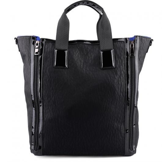 Черна дамска ежедневна чанта Radha