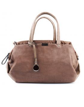 дамска ежедневна чанта кафява 0125074 в online магазин Fashionzona