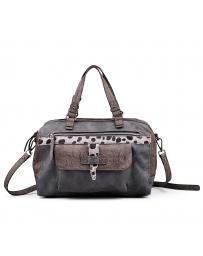 Сива дамска ежедневна чанта 0132345