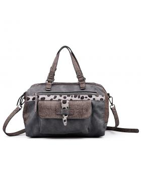 Сива дамска ежедневна чанта 0132345 в online магазин Fashionzona