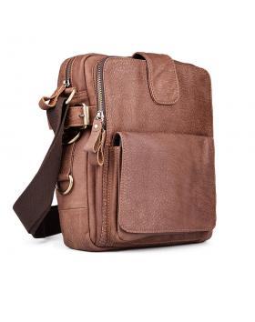 Мъжка ежедневна чанта кафява 0132447 в online магазин Fashionzona