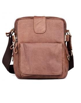 Кафява мъжка ежедневна чанта Abejundio в online магазин Fashionzona