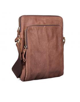 Мъжка ежедневна чанта кафява 0132443 в online магазин Fashionzona