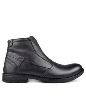 Черни мъжки ежедневни боти Parmenius в online магазин Fashionzona