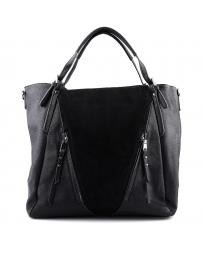 дамска ежедневна чанта черна 0125123