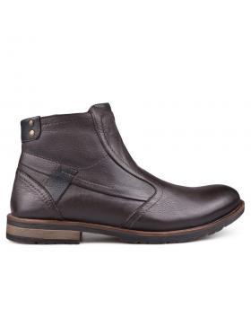Мъжки ежедневни боти кафяви 0132618 в online магазин Fashionzona