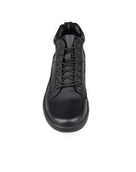 Черни мъжки ежедневни боти с топъл хастар 0131753 в online магазин Fashionzona