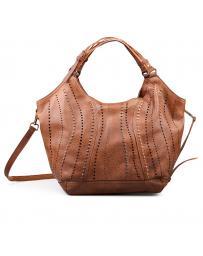 Кафява дамска ежедневна чанта 0132338