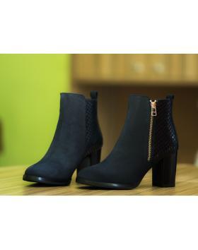 Дамски ежедневни боти сини 2026 в online магазин Fashionzona