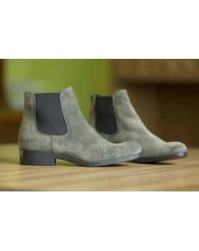 Дамски ежедневни боти сиво-зеленикави 49051 в online магазин Fashionzona