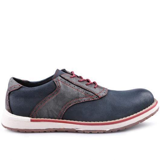 Тъмносини мъжки ежедневни обувки Navarre