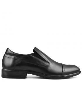 Черни мъжки елегантни обувки Abund в online магазин Fashionzona