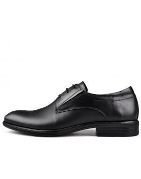 Черни мъжки елегантни обувки Dontae в online магазин Fashionzona