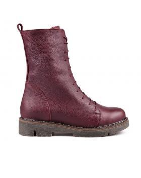Червени дамски ежедневни боти 0132763 в online магазин Fashionzona