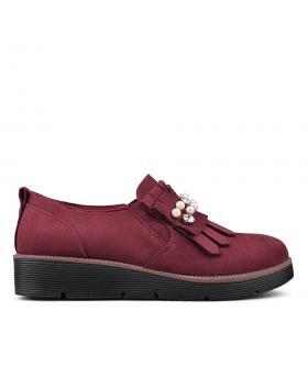 Дамски ежедневни обувки червени 0131983 в online магазин Fashionzona