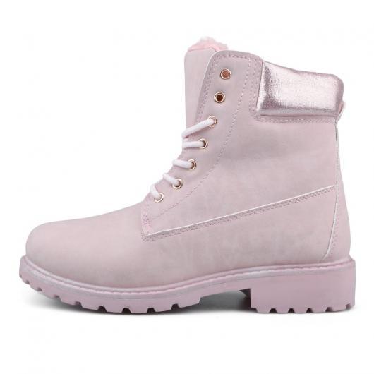 8cd7407f101 Розови дамски ежедневни боти Xavierra ⋙ на цена 24,94 лв — Fashionzona