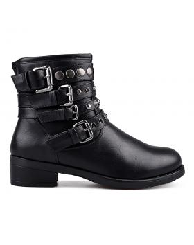 Черни дамски ежедневни боти 0131768 в online магазин Fashionzona