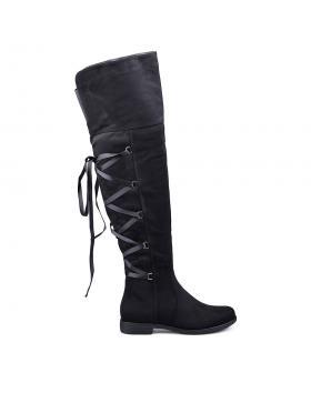 Черни дамски ежедневни ботуши 0131626 в online магазин Fashionzona
