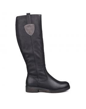 Дамски ежедневни ботуши черни 0131896 в online магазин Fashionzona