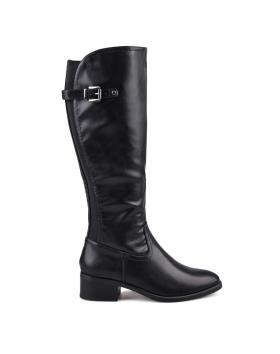 Черни дамски ежедневни ботуши 0131762 в online магазин Fashionzona