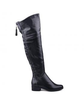 Черни дамски ежедневни ботуши 0131635 в online магазин Fashionzona