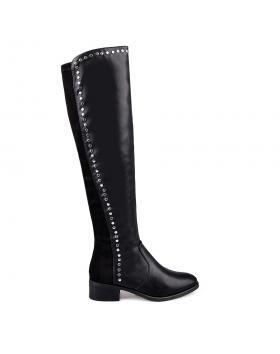 Черни дамски ежедневни ботуши 0131764 в online магазин Fashionzona