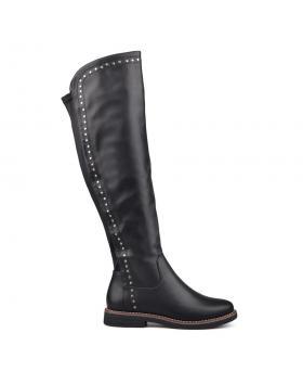 Дамски ежедневни ботуши черни 0131601 в online магазин Fashionzona