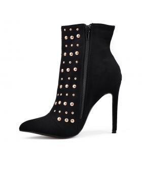 Черни дамски елегантни боти Aleece в online магазин Fashionzona