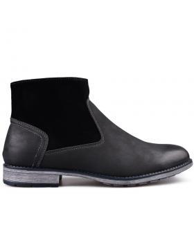 Мъжки ежедневни боти черни 0131694 в online магазин Fashionzona