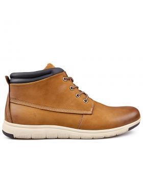 Мъжки ежедневни боти кафяви 0132199 в online магазин Fashionzona