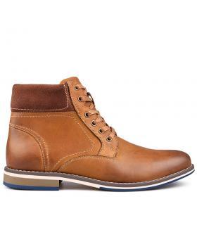 Мъжки ежедневни боти кафяви с топъл хастар 0132202 в online магазин Fashionzona