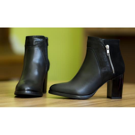 Черни дамски ежедневни боти Chiana