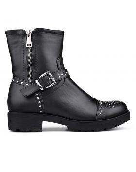 Черни дамски ежедневни боти 0131773 в online магазин Fashionzona