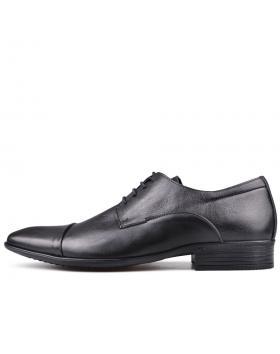 Черни мъжки елегантни обувки Archibaldo в online магазин Fashionzona